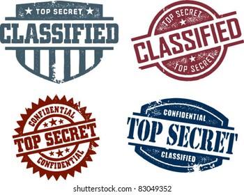 Vintage Top Secret Collection