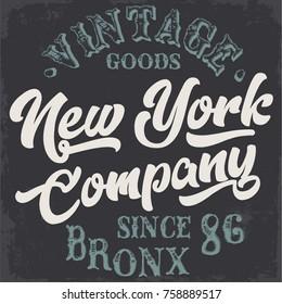vintage typography illustration, typography
