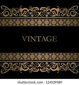 Vintage vector background