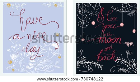 29be2c53be0f Vintage vector of Ink painted word Lettering Dry brush Hand draw brush font  with sweet pastel