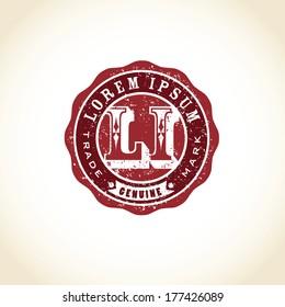 Vintage Vector Royal Seal Crest