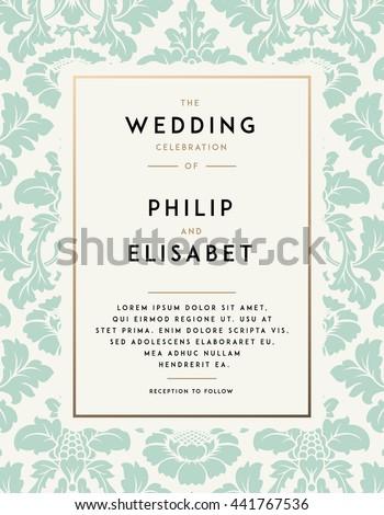 wedding designs for invitations templates