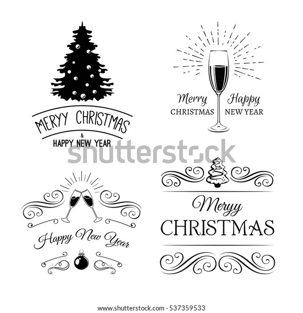vintage xmas merry christmas happy 600w 537359533