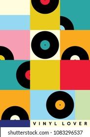 Vinyl Lover interior poster