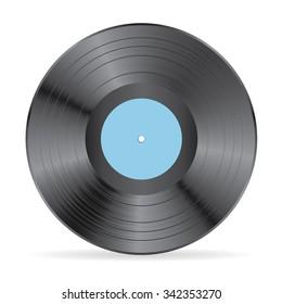 Vinyl vector illustration.