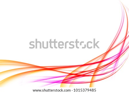 violet red light line curve template stock vector royalty free