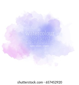 violet watercolor background