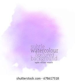 violet watercolor background