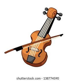 violin cartoon images stock photos vectors shutterstock rh shutterstock com cartoon violin player cartoon violin pictures