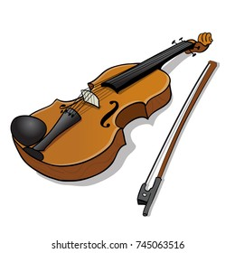 violin cartoon images stock photos vectors shutterstock rh shutterstock com cartoon violin drawing cartoon violin 1995 tapes cassettes ebay