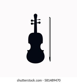 Violin  icon Vector design.