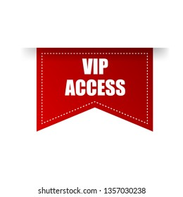 vip access red banner