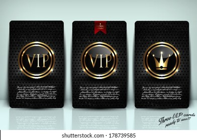 VIP card collection