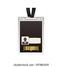 VIP card template icon vector illustration graphic design
