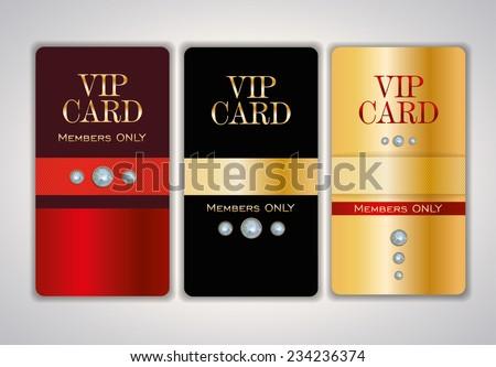 Vip club card design templates crystals stock vector royalty free vip club card design templates with crystals vector illustration maxwellsz