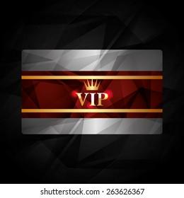 VIP design over black background, vector illustration.