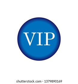 VIP Emblem. Very Important Person or Priority Illustration As A Simple Vector Sign & Trendy Symbol for Design and Websites, Presentation or Mobile Application.