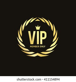 VIP Luxury Logo Template