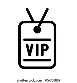 vip neck tag