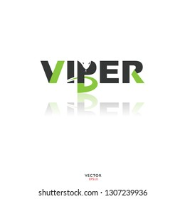 Viper Logo with Letter P