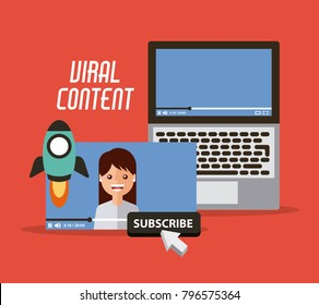 viral content video start launch suscribe digital