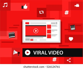 Viral video and most popular channel on internet
