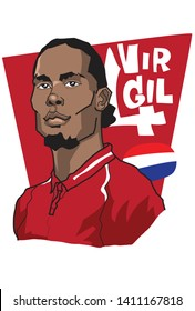 Virgil van Dijk is a Dutch professional footballer, a Professional footballer who plays as a centre-back for Liverpool FC,  and captains the Netherlands national team. May 30, 2019