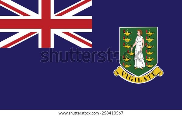 Флаг Виргинских островов