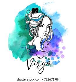 Virgo. Zodiac signs girl