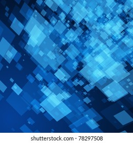 Virtual technology space vector background. Eps 10.