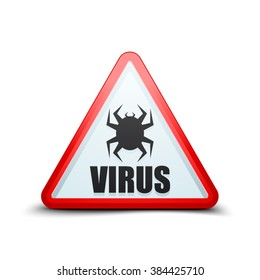 Virus attention sign