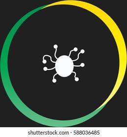 Virus vector  icon