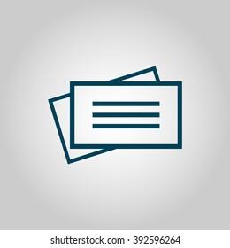 Picto Carte Visite Images Stock Photos Vectors