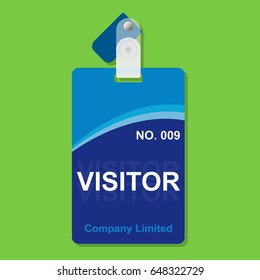 Visitor Pass Card Security in Organization