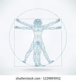 The Viturvian Man - Wire Concept