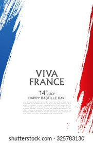 Viva France. 14 july. Happy Bastille Day!
