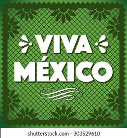 Viva Mexico - Cut Out Paper Composition