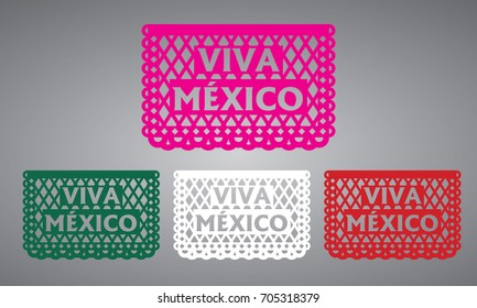 Viva Mexico - Cut Out Paper