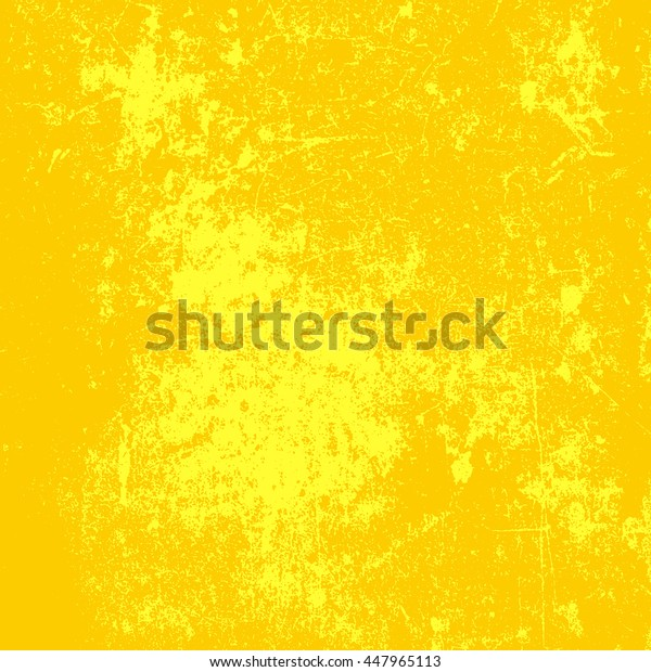 vivid, yellow, grunge paper background with two colors
