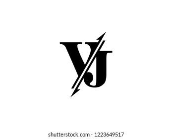 VJ initials logo sliced