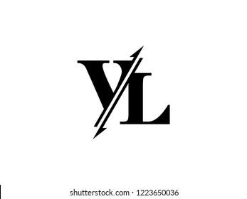 VL initials logo sliced