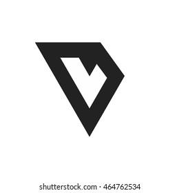 vl letter vector logo