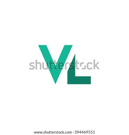Vl Logo Stock Vektorgrafik Lizenzfrei 394469551 Shutterstock