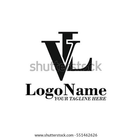 Vl Logo Stock Vektorgrafik Lizenzfrei 551462626 Shutterstock