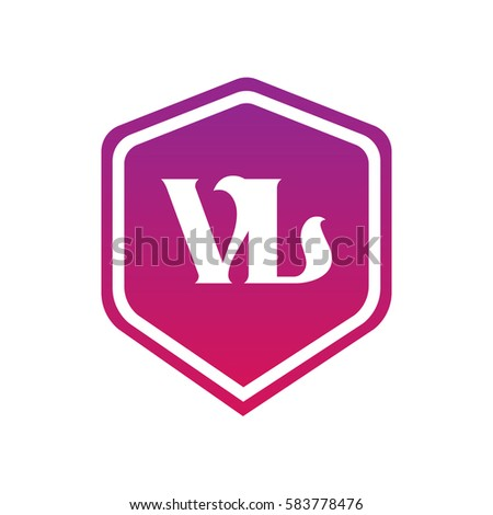 Vl Logo Stock Vektorgrafik Lizenzfrei 583778476 Shutterstock