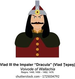 Vlad the Impaler Dracula (Vlad Tepes) Voivode of Wallachia