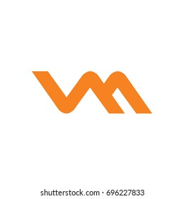 VM abstract Initials Logo