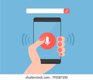 voice search using phone