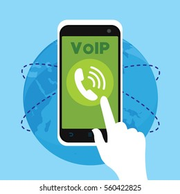 voip telephone with internet connection