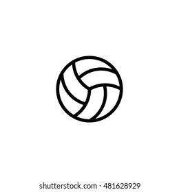 voleyball icon. voleyball design